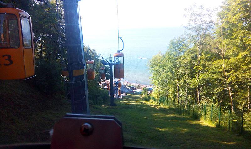 Канатная дорога в Светлогорске